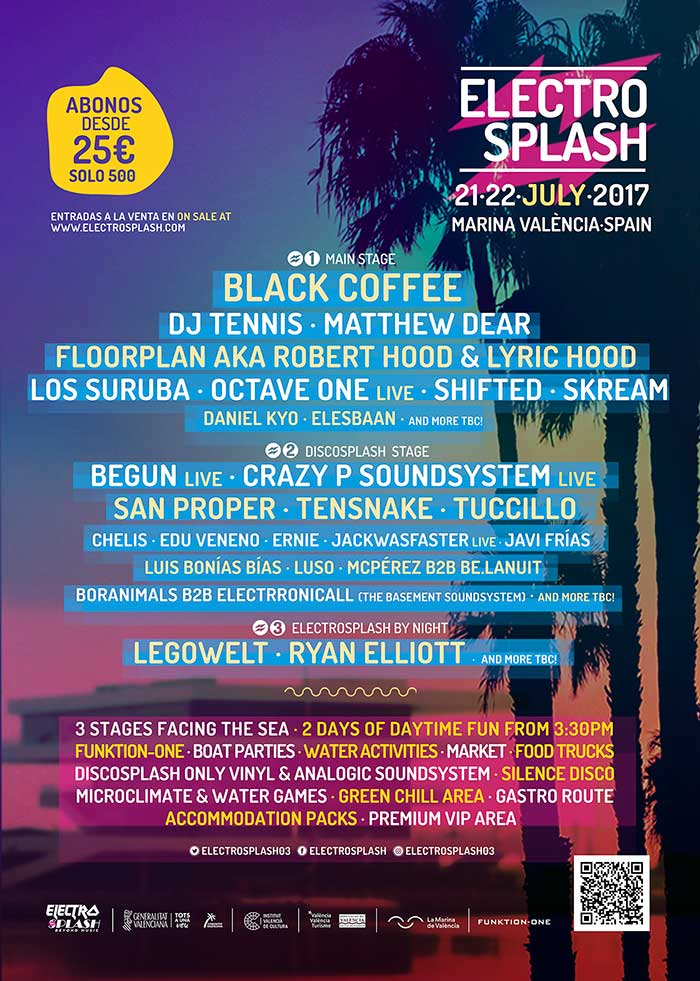 Cartel electrosplash 2017